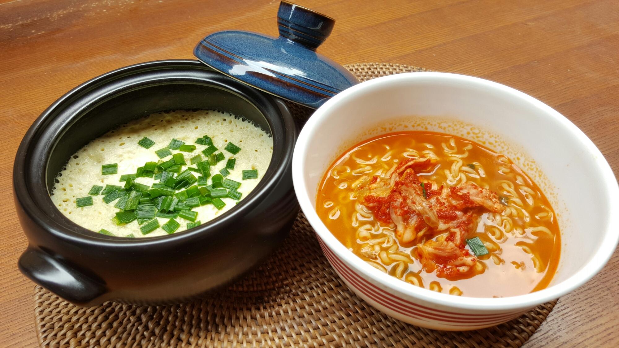 how to make steamed egg korean